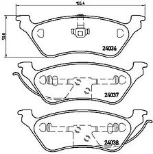 Brake Pad Set, disc brake A.B.S. P11014