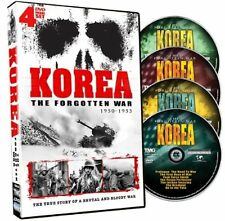 Korea The Forgotten War R4 DVD New (4 Discs)
