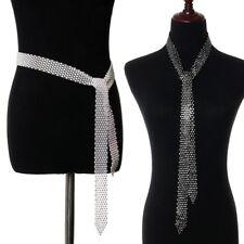 Womens Belt Full Rhinestone Waist Chain Inlaid Waistband Shiny Crystal Diamond