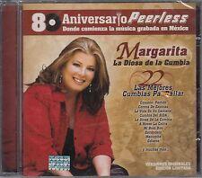 Margarita La Diosa De La Cumbia 80 Aniversario 22 Exitos CD New Nuevo Sealed
