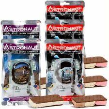 Astronaut Space Food - 3 x Neapolitan, 2 x Vanille Eiscreme - Astronautennahrung