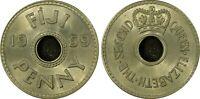 Fiji 1959 Penny 1D PCGS MS64 GEM UNC