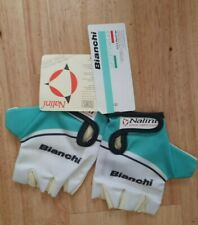 Bianchi Lady Celeste Womans Summer Cycling Gloves, Size Medium - New with Tags