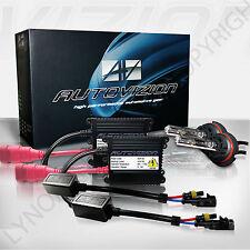 55Watt 55w Slim HID KIT 9007 Hb5 6000K BRIGHT white Headlight Conversion 6k kit