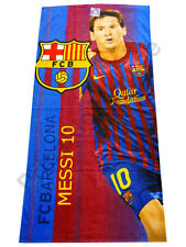 Toalla Futbol Club Barcelona Messi Baño Piscina Deporte Producto Oficial