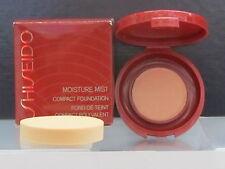 Shiseido Moisture Mist Compact Foundation 02 First Blush 0.03 oz Sample Size New