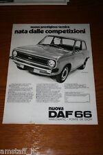 AC11=1972=DAF 66=PUBBLICITA'=ADVERTISING=WERBUNG=