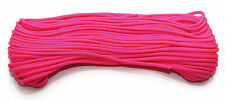 NEW! 7 strand High Grade 550 Paracord 50ft Neon Pink