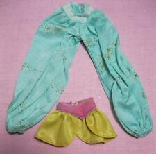 vtg 1993 Barbie Doll Princess JASMINE CLOTHES Water JEWEL Magic Shorts/Pants set