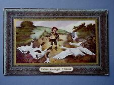 R&L Postcard: Fallen Amongst Thieves, Birn Bros 1910, Geese