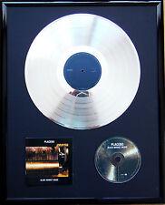 """Placebo Black Market gerahmte CD Cover +12""""Vinyl goldene/platin Schallplatte"""