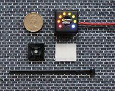 Voltacube 8 LED 12v Calibre Medidor de nivel de monitor de carga de la batería 12 Voltios R