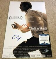 CHIWETEL EJIOFOR SIGNED 12 YEARS A SLAVE 12X18 MOVIE POSTER PHOTO SOLOMON BAS