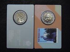 SAN MARINO 2018 COINCARD moneta da 2 euro + francobollo UNESCO