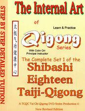 SHIBASHI - EASY 18 TAI CHI - QIGONG COMPLETE DVD