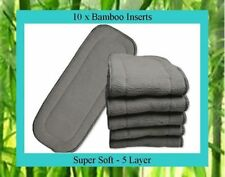 Bamboo Less than 25 Booster Cloth Nappies