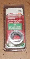 "Aerator NIB Ace Hardware 43802 Price Pfister Style Female Adapter3/4""x27 THD 97R"