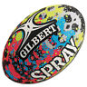 Gilbert Junior Spray Rugby Ball - 10""