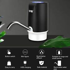 New Automatic Electric Dispenser USB Water Bottle Switch Pump Stop for 1min