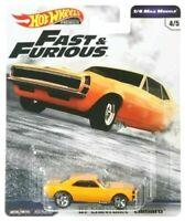 HOT WHEELS Fast & Furious '67 CAMARO 1/4 Mile Muscle 2019 C Case L@@K!