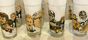 Steelers glasses collectible, McDonalds limited issue