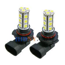 2x 18 SMD 5050 LED H10 9145 SMD Fog Lights DRL Driving Lamp Super White