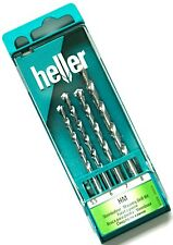4pc HELLER Masonry Drill Bit Set 5.5mm 6mm 7mm 8mm Brick Concrete Stone