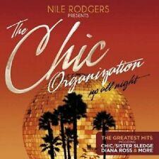 NILE RODGERS PRES.THE CHIC ORGANIZATION:UP ALL NIGHT  2 CD INTERNATIONAL POP NEU