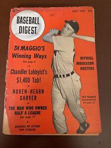 July 1951 Baseball Digest
