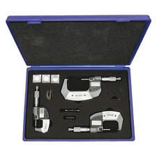 "Electronic Micrometer Set, 3 Pc, Micrometers Included: 1"", 2"", 3"""