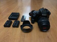 Sony Alpha SLT-A57 Digital SLR Camera+ Extras! Includes 35mm 1.8 & 50mm 1.8 Lens