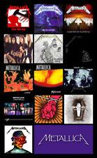"METALLICA album discography magnet (4.5"" x 3.5"")"