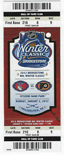 2012 NHL Winter Classic Full Ticket - Rangers vs Flyers Citizens Bank Park MINT!