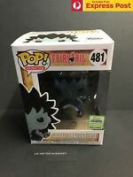 FAIRY TAIL GAJEEL (DRAGON FORCE) ECCC 2019 METALLIC FUNKO POP! VINYL #481 NEW