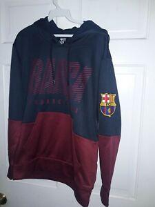 FC Barcelona soccer Hooded Sweatshirt Barça fútbol camisa sudadera  capucha - ,S