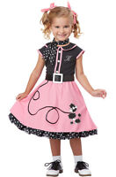 50's Poodle Skirt Cutie Grease Toddler Costume