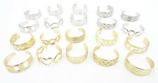 New Adjustable Gold & Silver Tone Metal Toe Ring Sets #R1157X