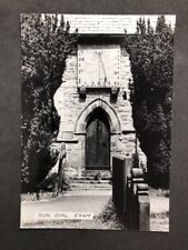 Vintage BW Real Photo #BL: Sun Dial, Eyam:  4 Of 7