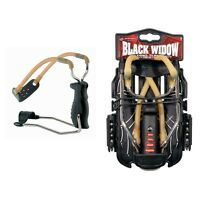Barnett Black Widow - slingshot catapult with wrist brace + FREE AMMO