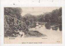 Arundel Swanbourne Vintage U/B Peacock Postcard 052b