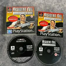 Resident Evil Director's Cut PS1 PlayStation 1 PAL Game Complete + Resi 2 Demo