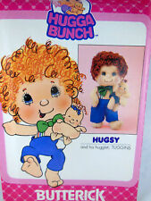Vintage Butterick 3393 Pattern Hugga Bunch Hugsy & Tuggins UNCUT Factory Folded