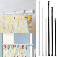 Extendable Spring Tension Rod Pole Shower Curtain Bathroom Window Adjustable ut