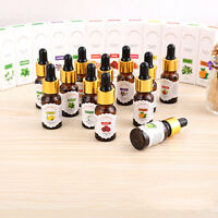 12 Scent 0.34oz Fragrance Pure Essential Oil Set For Air Diffuser Humidifier