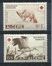Algérie N°343/44** (MNH) 1957 - Croix Rouge