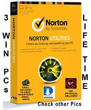 Norton Utilities v16 for 3 PCs Life time license Global Key