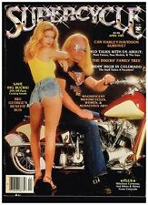 SUPERCYCLE APRIL 1983 CONTENTS CUSTOM STREET CHOPPERS HOW TO TECH TIPS