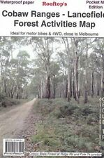 ROOFTOP'S COBAW RANGES - LANCEFIELD FOREST MAP- 4WD - MOTOR BIKE- CAMPING-TRAILS