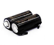Batteria ricaricabile 26650 5000mAh 3.7V li.ion litio  20A con lamelle tabs
