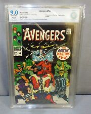 THE AVENGERS #54 (Ultron 5 1st appearance) CBCS 9.0 VF/NM Marvel Comics 1968 cgc